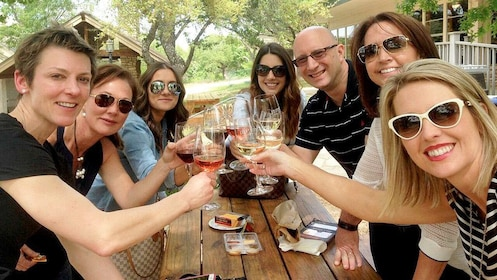 Hill Country BBQ and Wine Shuttle in Austin