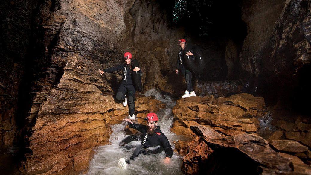 Ruakuri Caves Black Water Rafting with Kiwi Bird Experience