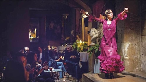 Flamenco Tapas and show in Barcelona