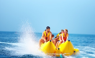 Banana Boat Adventure from Cabbage Beach Bahamas