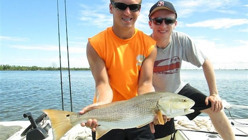 Two Boys Redfish in Port St Joe.jpg