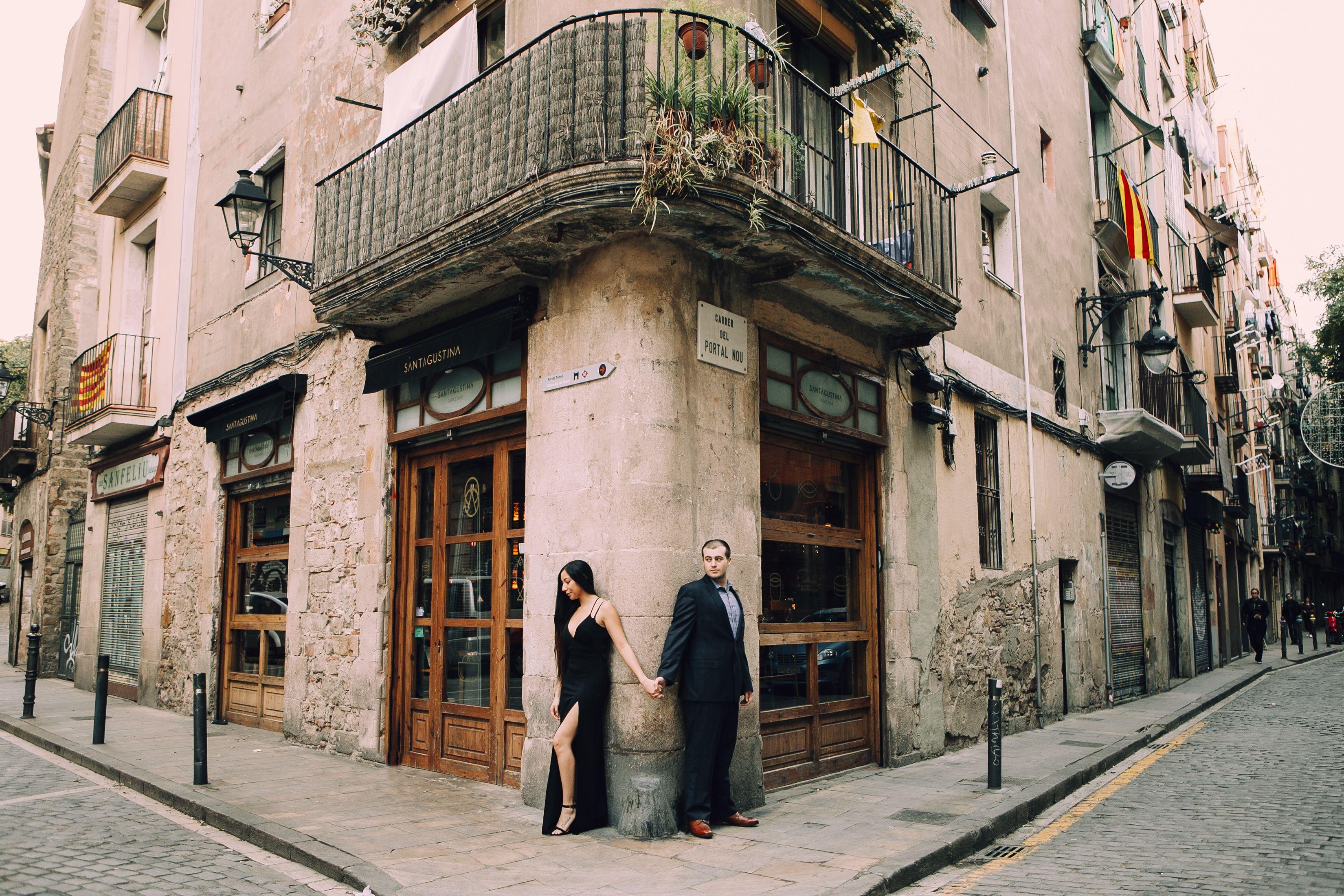 Privat session med en lokal fotograf i Barcelona