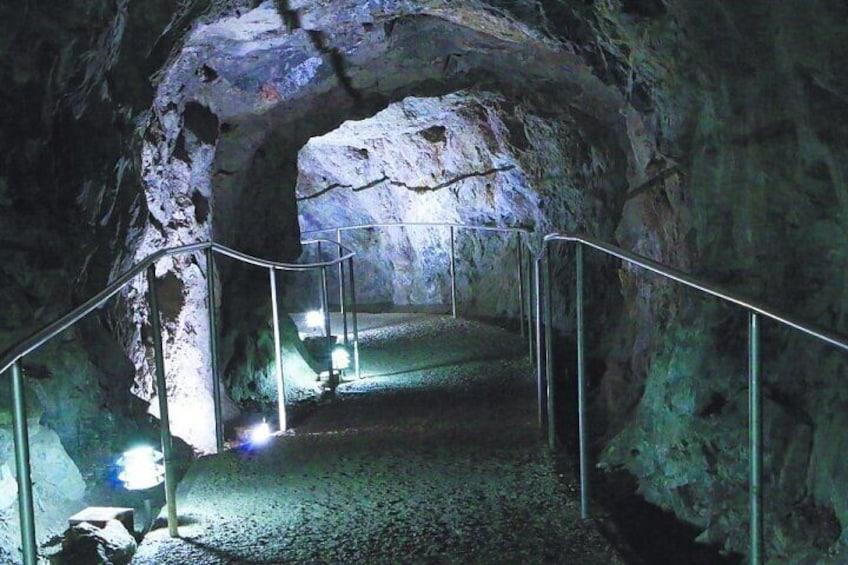 Nombre de Dios Caves and Quintas Carolinas Tour from Chihuahua