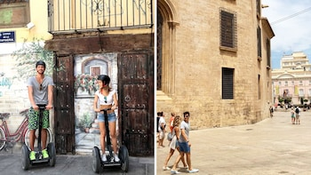 Combo Experience: Segway Ride & Walking Tour of Valencia