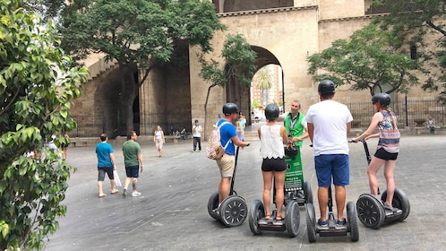 View of the Valencia Long Segway Night Tour