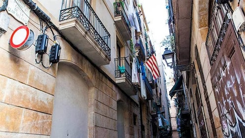 Street view of Barcelona