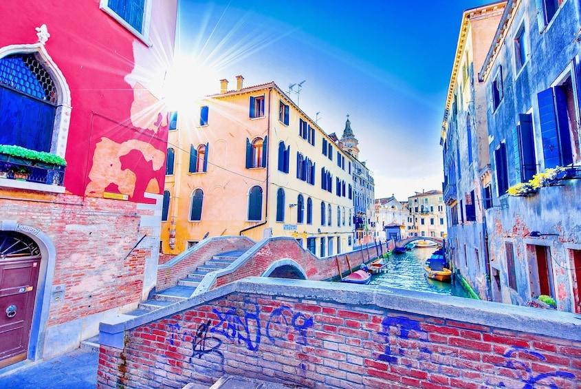 Walking Venice city tour of St. Mark's Square & Castello