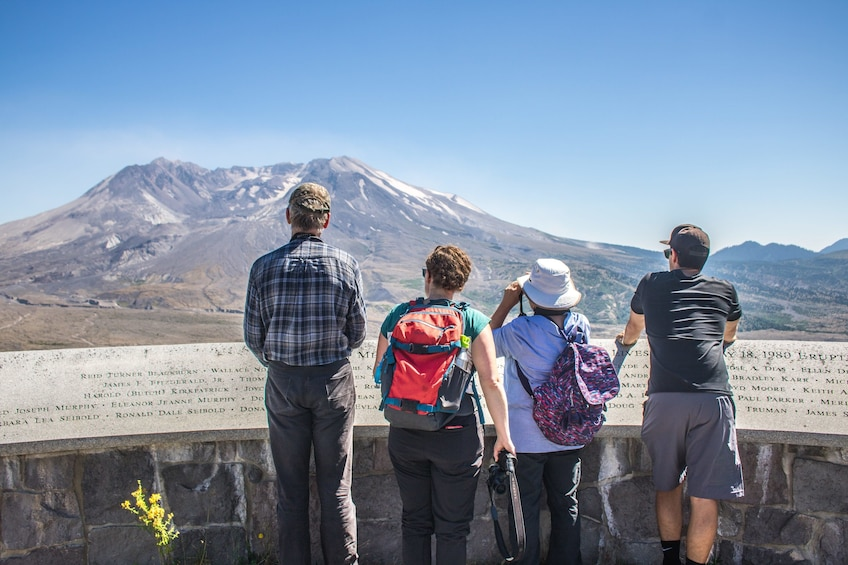 Mt. St. Helens National Monument & Ape Cave Tour with Lunch