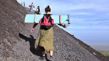 Private Volcano Excursion at Cerro Negro. Hiking or