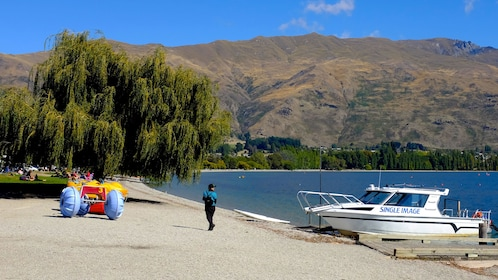Lake in New Zealand