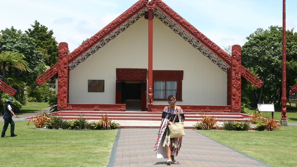 Show item 4 of 5. Te Puia Maori cultural center