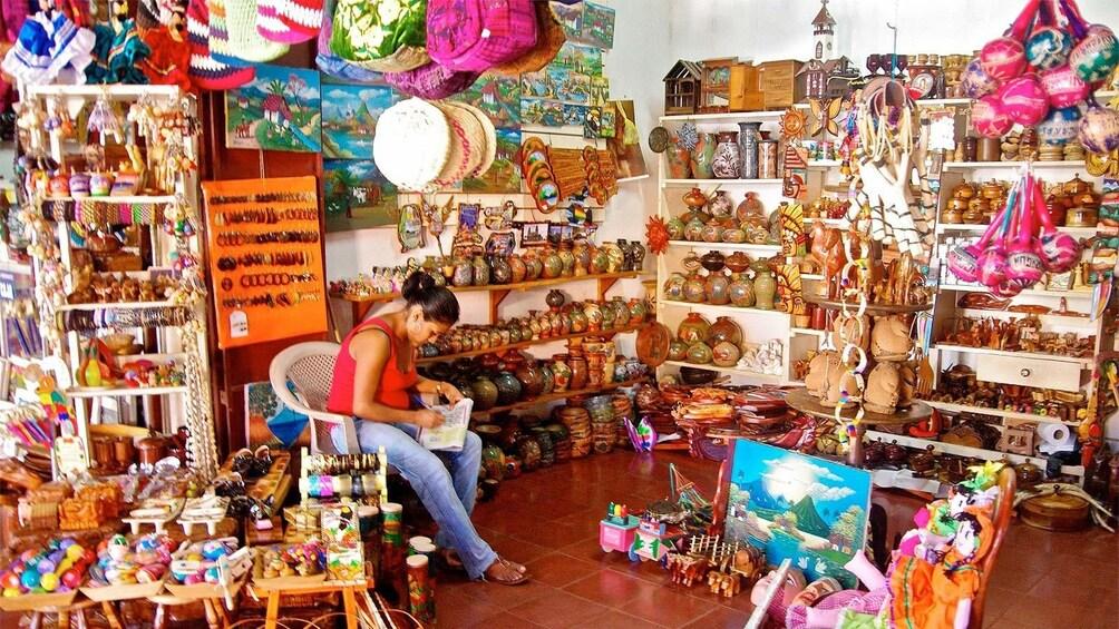 Show item 4 of 4. Local souvenir shop in Montevideo