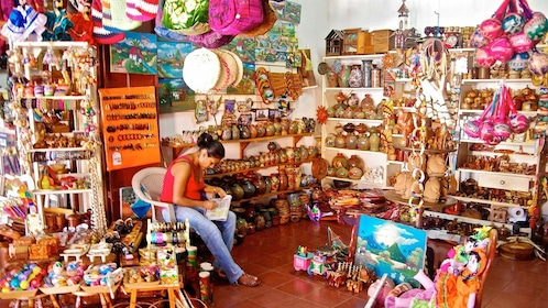 Local souvenir shop in Montevideo