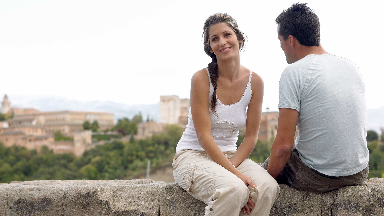 Couple in granada