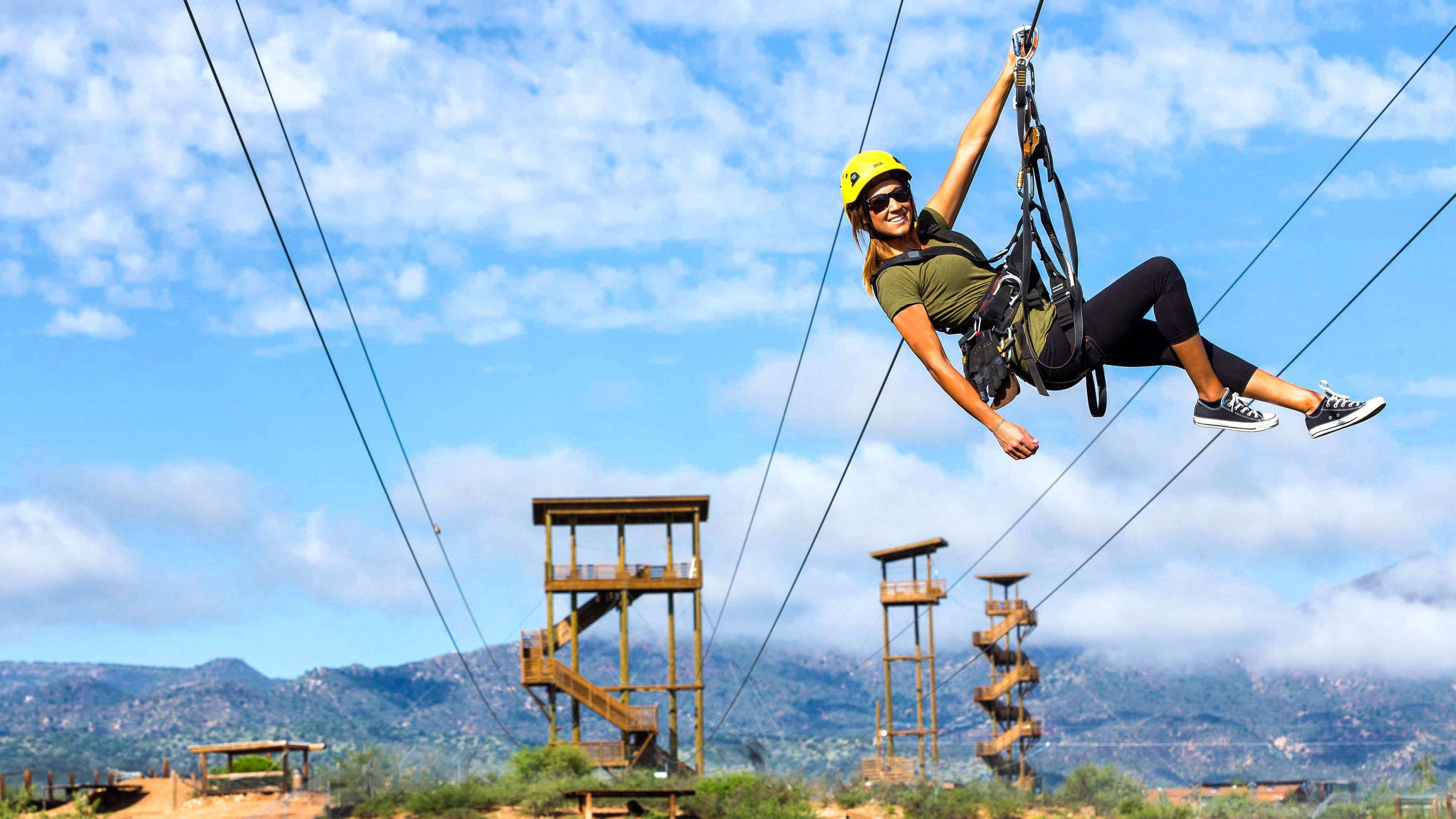 Zipline Adventure at Out of Africa Wildlife Park