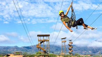 Zip line Adventure at Out of Africa Wildlife Park