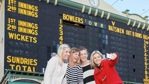 Group of ladies on the Adelaide Oval Stadium Tour