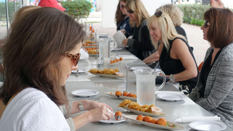 Group on the Wynwood food tour