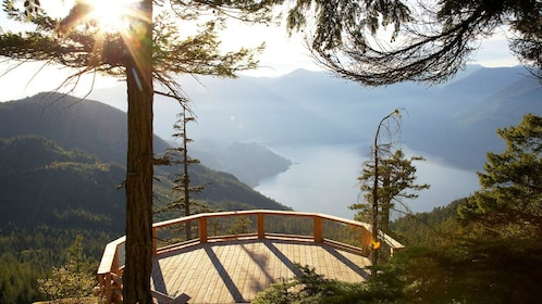 Lookout point in British Colombia