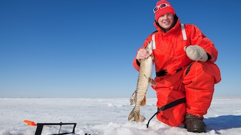 Aboriginal Ice Fishing Experience