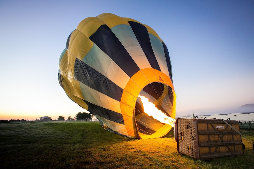 Cargar foto 3 de 7. Teotihuacan Hot Air Balloon Tour