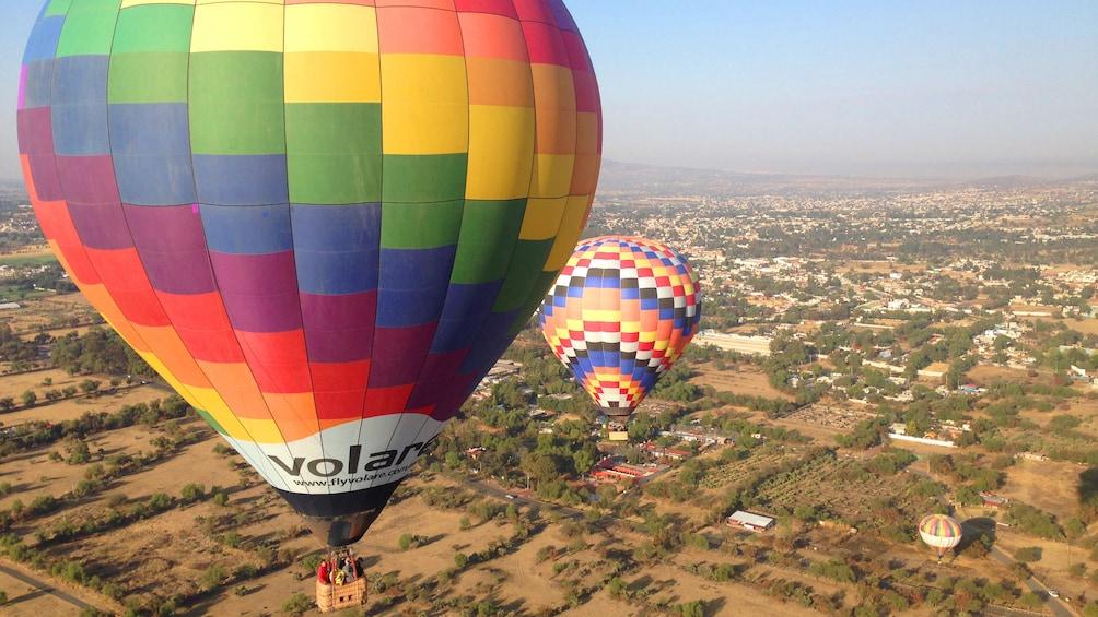 Cargar foto 1 de 7. Hot Air Balloons over Mexico