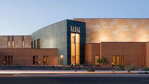 Exterior of the Musical Instrument Museum in Phoenix
