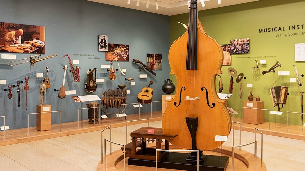 Show item 2 of 5. Instruments on display at a museum in Phoenix
