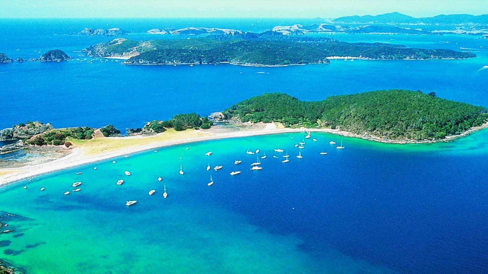 Post-Cruise Shore Excursion: Guided Bay of Islands Tour with Transfers