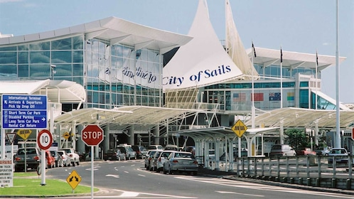 Port in Auckland