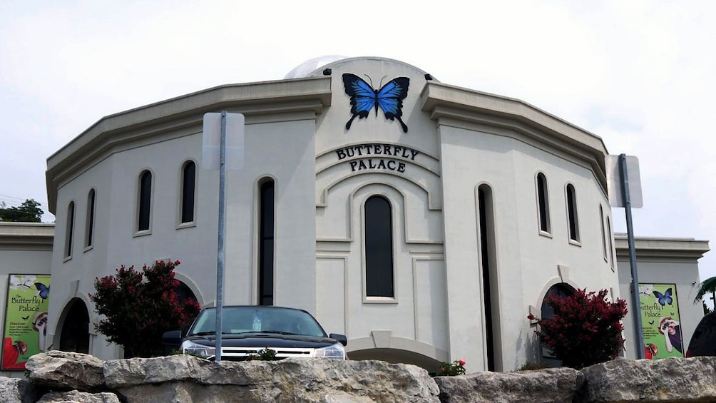 Exterior of Butterfly Palace in Branson
