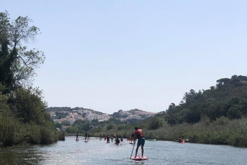 Stand Up Paddle Experience in Rio Mira