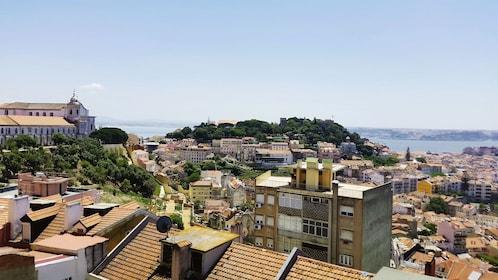 City along the coast in Alfama