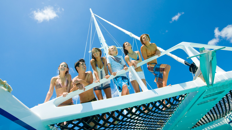 Reggae Family Catamaran Cruise to Margaritaville