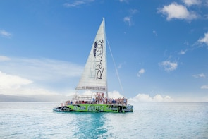 Catamaran Cruise to Dunn's River Falls with Snorkeling