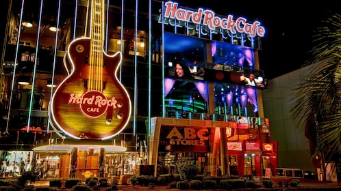 Hard Rock Cafe on the Las Vegas strip