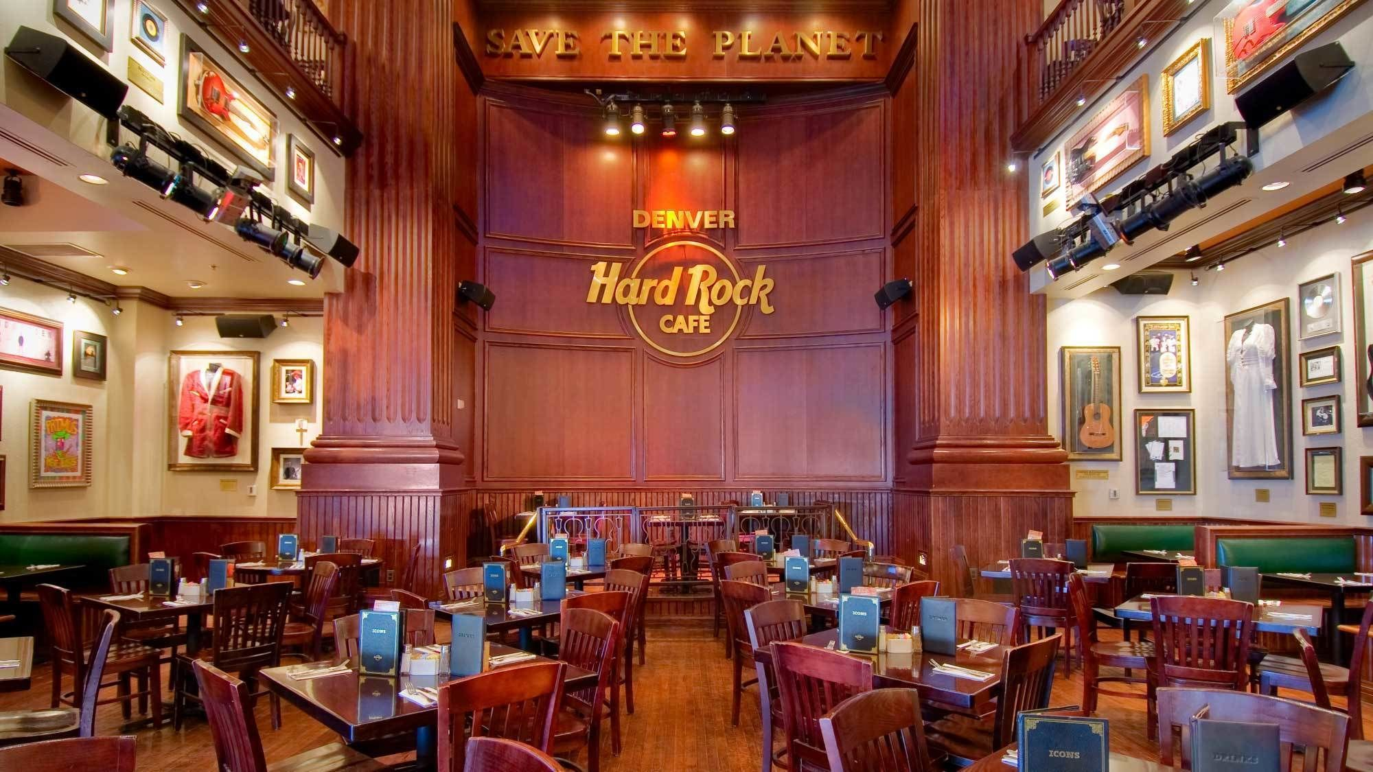 Dining at Hard Rock Cafe Denver with Priority Seating