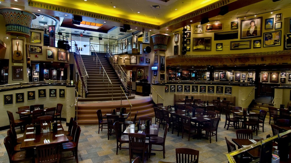 Show item 3 of 10. Dining room at the Hard Rock Cafe in Myrtle Beach
