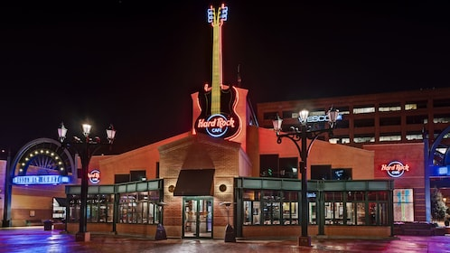 Exterior view of the Pittsburg Hard Rock Cafe
