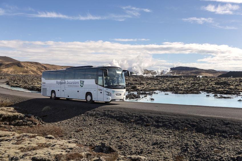 Flexible Bus Transfers between Reykjavik & the Blue Lagoon
