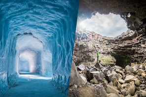 Guided Full-Day Tour of Langjökull Ice Cave & Víðgelmir Lava Cave