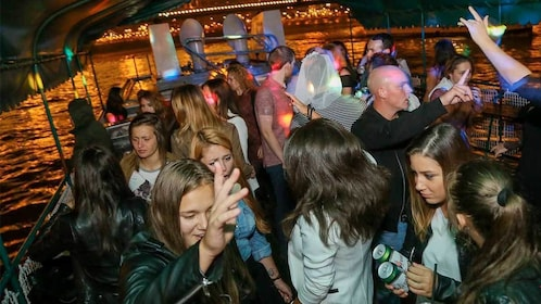 Dancing on the Pub Crawl & Party Cruise tour in Budapest