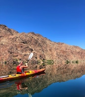Black Canyon Kayak Tour with Emerald Cave & Overlook