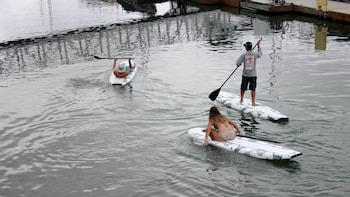 Guided Paddleboarding Tour of San Diego Bay