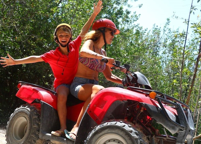 ATV & Speedboat Combo Tour at Maroma Beach