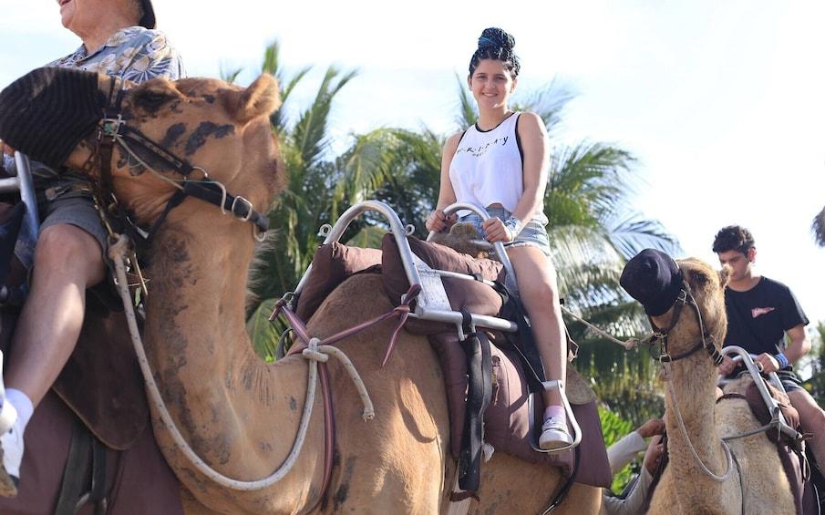 Camel Caravan Expedition at Maroma Beach