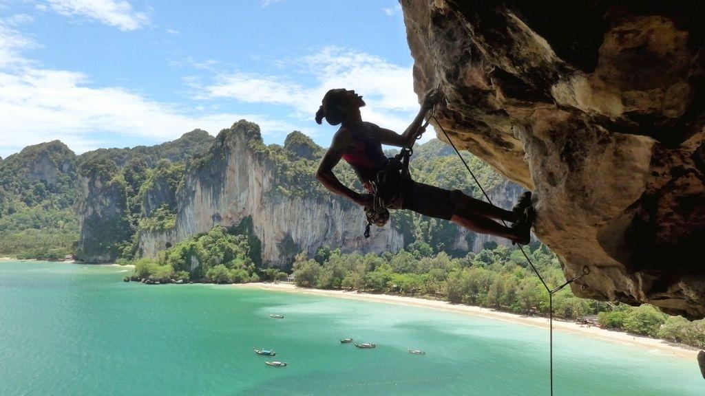Full-Day Rock Climbing & Caving Adventure at Railay Beach
