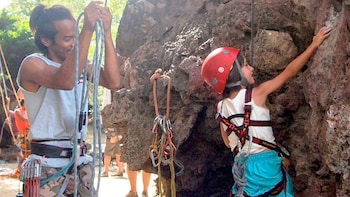 Private Climbing & Caving Adventure at Railay Beach