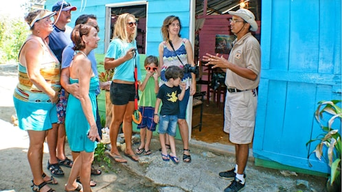 Group engaged in a tour in Puerto Plata, Dominican Republic