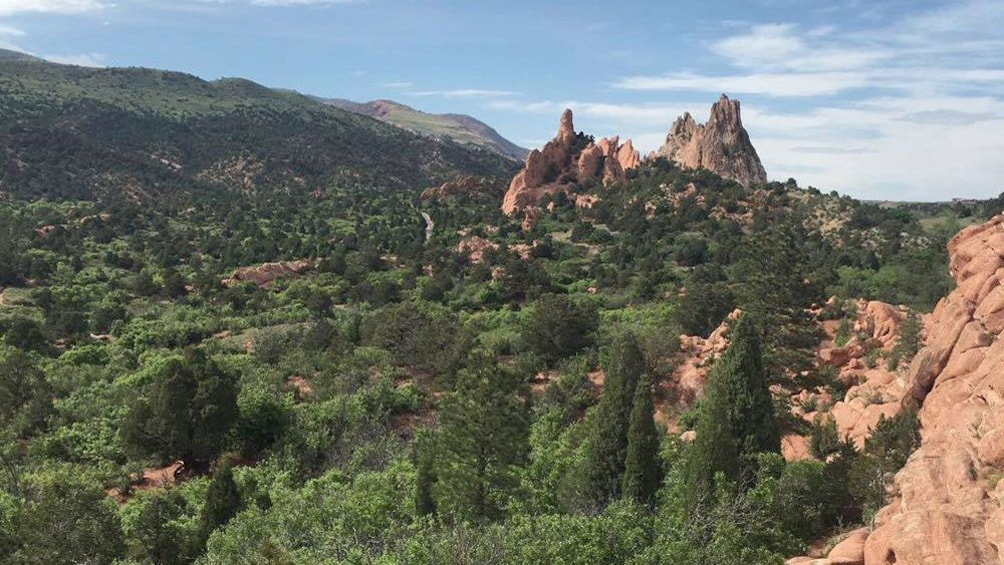 Show item 2 of 5. Landscape view of Garden of the Gods in Colorado
